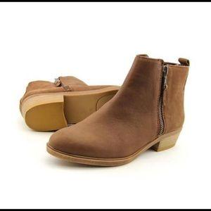 Ralph Lauren Shira Brown Booties Size 7